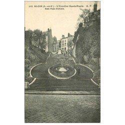 carte postale ancienne 41 BLOIS. Escalier Denis-Papin