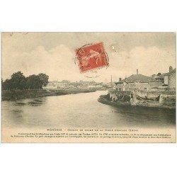 carte postale ancienne 08 MEZIERES. Chemin de Ronde de la Corne d'Arches 1907