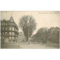 carte postale ancienne 08 MEZIERES. Cours d'Orléans 1905