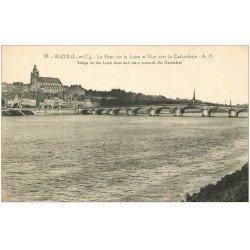 carte postale ancienne 41 BLOIS. Vue générale 97