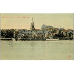 carte postale ancienne 41 BLOIS. Vue générale Hôtel-Dieu 27