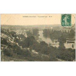 carte postale ancienne 41 BOURRE. Vue 1910