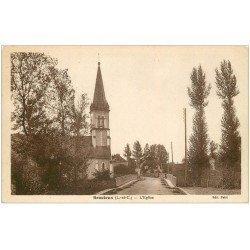 carte postale ancienne 41 BRACIEUX. L'Eglise 1934