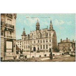 carte postale ancienne 08 MEZIERES. Hôtel de Ville 1946