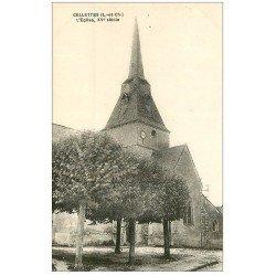 carte postale ancienne 41 CELLETTES. L'Eglise