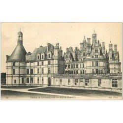 carte postale ancienne 41 CHAMBORD. Le Château. Aile 16