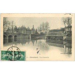 carte postale ancienne 41 CHAMBORD. Le Château. Vue d'ensemble 1938