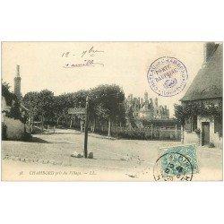 carte postale ancienne 41 CHAMBORD. Le Village 1905