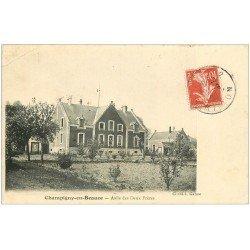 carte postale ancienne 41 CHAMPIGNY-EN-BEAUCE. Asile des Deux Frères 1908