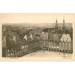 carte postale ancienne 08 MEZIERES. Place Ducale. Librairie Classique Lefèvre