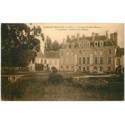 carte postale ancienne 41 LAMOTTE-BEUVRON. Château Colonie Saint-Maurice