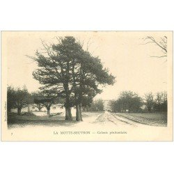 carte postale ancienne 41 LAMOTTE-BEUVRON. Colonie Pénitentiaire vers 1900