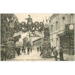 carte postale ancienne 41 LAMOTTE-BEUVRON. Concours Agricole en 1924