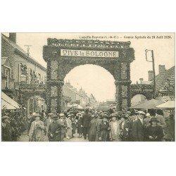 carte postale ancienne 41 LAMOTTE-BEUVRON. Concours Agricole. Comice