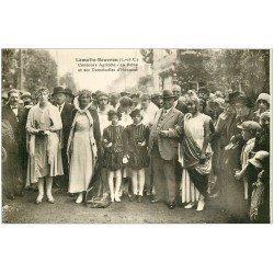 carte postale ancienne 41 LAMOTTE-BEUVRON. Concours Agricole. Reine et Demoiselles d'Honneur