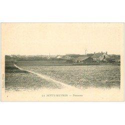 carte postale ancienne 41 LAMOTTE-BEUVRON. Panorama vers 1900
