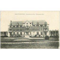 carte postale ancienne 41 LAMOTTE-BEUVRON. Sanatorium des Pins. Villa Jeanne d'Arc 1918