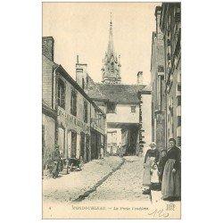 carte postale ancienne 41 MONDOUBLEAU. La Porte Vendôme Vins et Liqueurs en gros