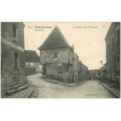 carte postale ancienne 41 MONDOUBLEAU. Maison et Boulangerie
