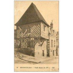 carte postale ancienne 41 MONDOUBLEAU. Vieille Maison