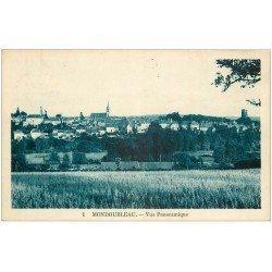 carte postale ancienne 41 MONDOUBLEAU. Vue panoramique
