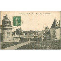 carte postale ancienne 41 MONTHOU-SUR-CHER. Château du Gué-Péan