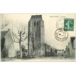 carte postale ancienne 41 MONTLIVAULT. La Tour 1910