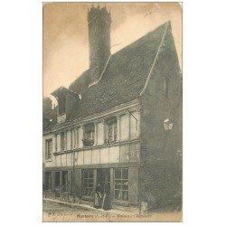 carte postale ancienne 41 MONTOIRE. Maison Cheminée 1903