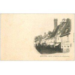 carte postale ancienne 41 MONTOIRE. Maison et Cheminée vers 1900