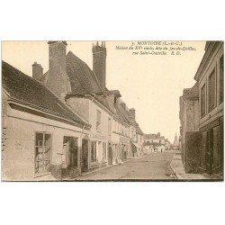 carte postale ancienne 41 MONTOIRE. Maison Jeu-de-Quille Rue Saint-Oustrille