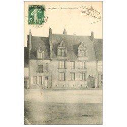 carte postale ancienne 41 MONTOIRE. Maison Renaissance 1913