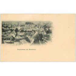 carte postale ancienne 41 MONTOIRE. Panorama vers 1900