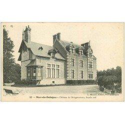 carte postale ancienne 41 MUR-DE-SOLOGNE. Château Boisgenceaux