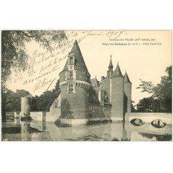 carte postale ancienne 41 MUR-DE-SOLOGNE. Château du Moulin 1917