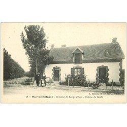 carte postale ancienne 41 MUR-DE-SOLOGNE. Maison du Garde Domaine Boisgenceaux