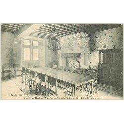 carte postale ancienne 41 MUR-DE-SOLOGNE. Salle à Manger Château du Moulin