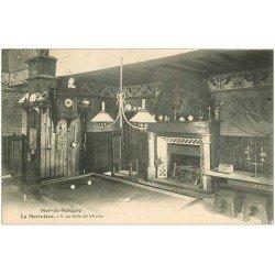 carte postale ancienne 41 MUR-DE-SOLOGNE. Salle de Chasse. La Morinière