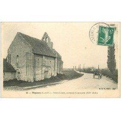 carte postale ancienne 41 NOYERS. Ancienne Léproserie Saint-Lazare 1908