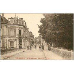 carte postale ancienne 41 ROMORANTIN. La Grande Rue et Pont