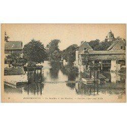 carte postale ancienne 41 ROMORANTIN. Moulins sur le Sauldre