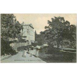 carte postale ancienne 41 ROMORANTIN. Square et Théâtre 1905