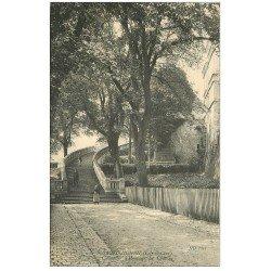 carte postale ancienne 41 SAINT-AIGNAN. Château. Escalier d'Honneur