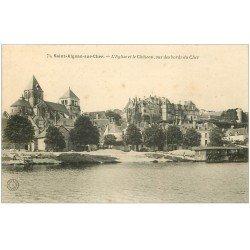 carte postale ancienne 41 SAINT-AIGNAN. Eglise et Château