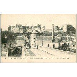 carte postale ancienne 41 SAINT-AIGNAN. Entrée de la Ville 1919