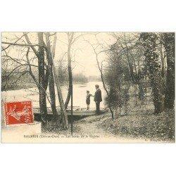 carte postale ancienne 41 SALBRIS. Bords de la Sauldre