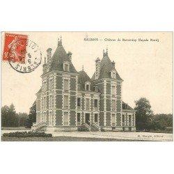 carte postale ancienne 41 SALBRIS. Château de Remarday 1909
