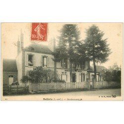 carte postale ancienne 41 SALBRIS. La Gendarmerie 1908