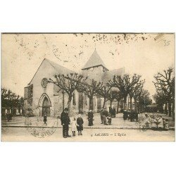 carte postale ancienne 41 SALBRIS. L'Eglise 1920