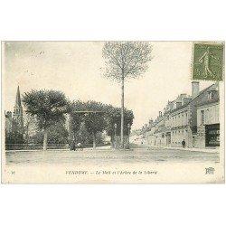 carte postale ancienne 41 VENDOME. Arbrte de la Liberté sur le Mail 1918