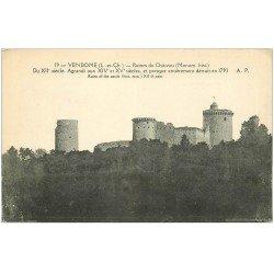 carte postale ancienne 41 VENDOME. Ruines du Château